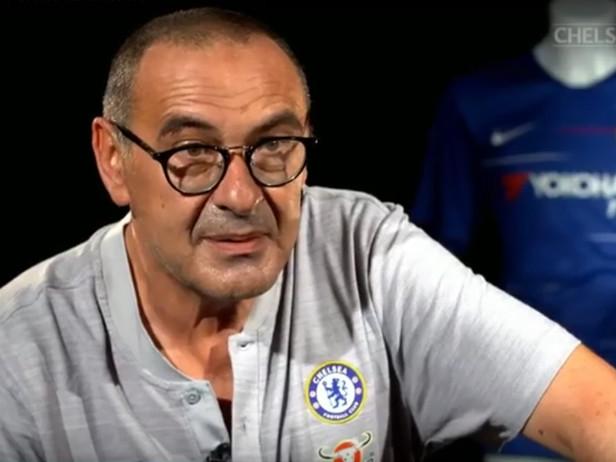 Sarri in inglese, la prima intervista al Chelsea