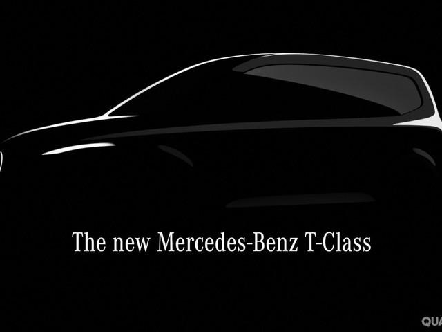 Mercedes-Benz - Spunta il primo teaser della Classe T