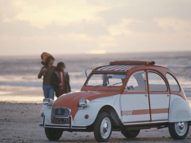 """Citroën: le origini della serie speciale """"2CV Spot"""""""