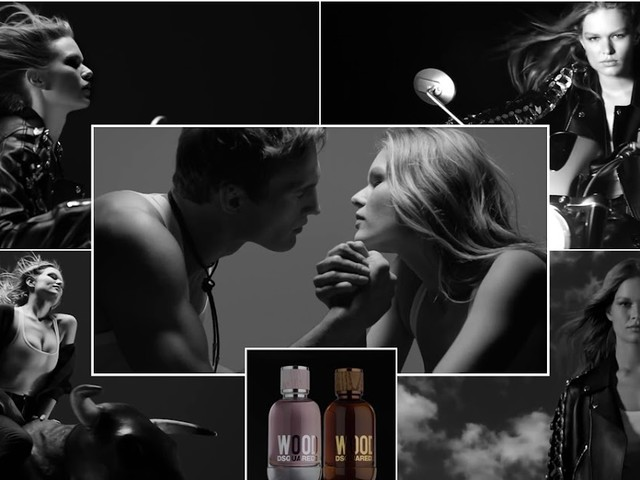 Le modelle della pubblicità: Anna Ewers per il profumo WOOD by Dsquared2 - Musica dello spot