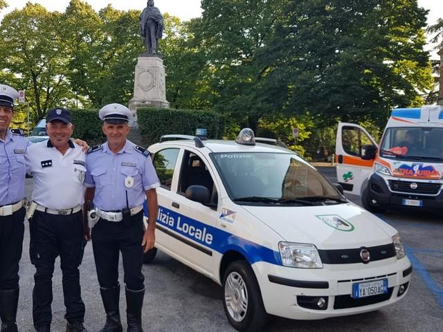 Collaborazione tra la Polizia Locale di Macerata e quella di Fermo per i grandi eventi