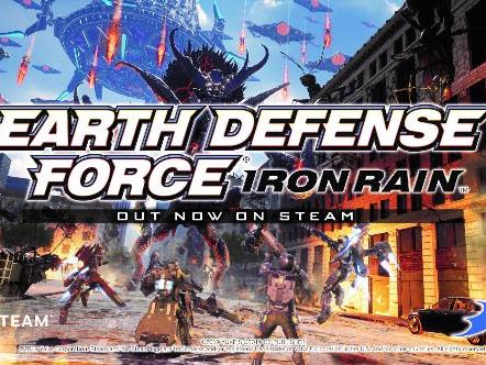 EARTH DEFENSE FORCE: IRON RAIN arriva oggi su Steam