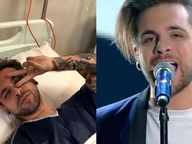 "Alessio Bernabei scrive ai fan dall'ospedale: ""Ho tolto le tonsille"""