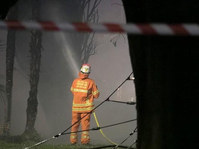 Incendio dei cipressi a Monfalcone, una delle famiglie: «Chiediamo scusa e pagheremo i danni»