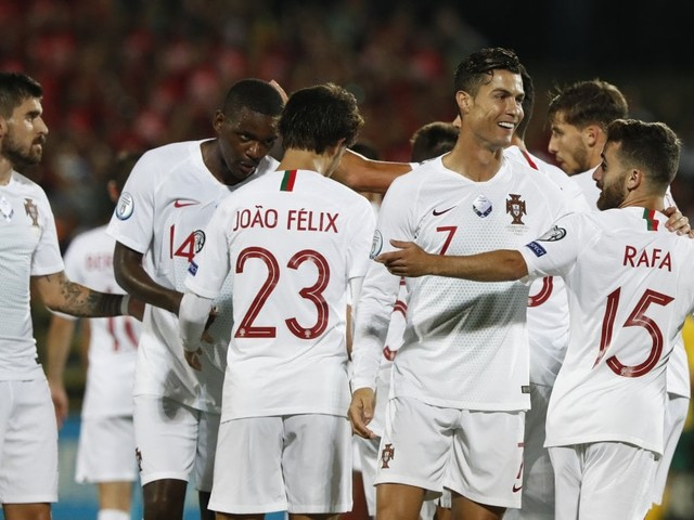 Qualificazioni Euro 2020: super Ronaldo, segna 4 reti e trascina il Portogallo, Inghilterra e Francia ok