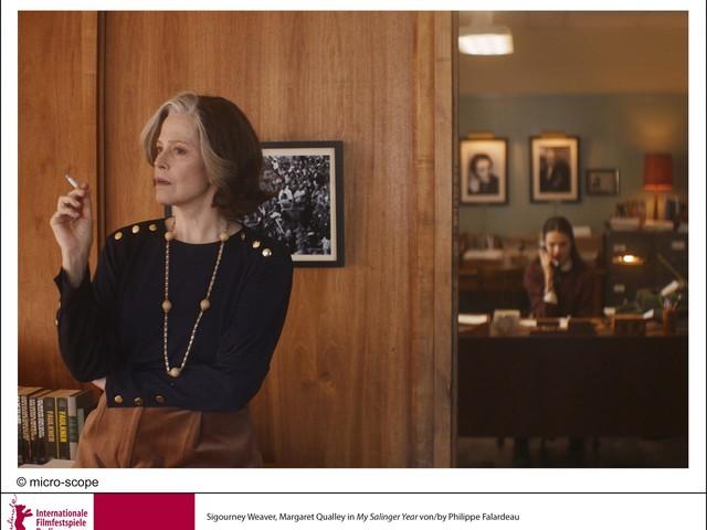 Berlinale 2020: 'My Salinger Year' è una dichiarazione d'amore per la letteratura. Sigourney Weaver e Margaret Qualley inaugurano il festival