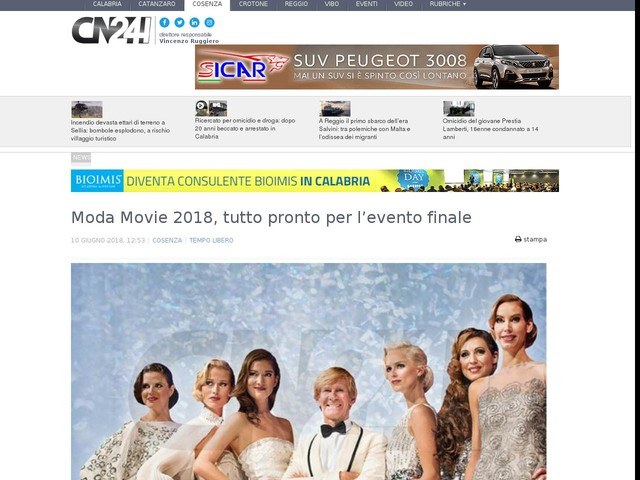 Moda Movie 2018, tutto pronto per l'evento finale