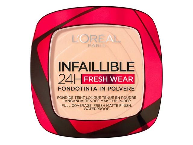 Recensione Fondotinta L'Oreal Infaillible 24H Fresh Wear Foundation In A Powder