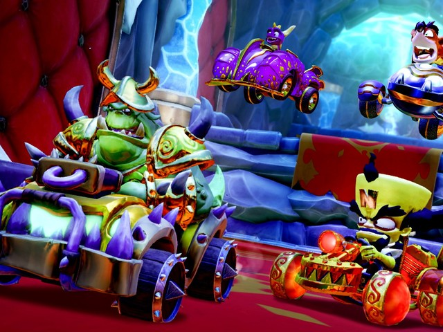 CTR Nitro Fueled: svelati in video i contenuti del Grand Prix di Spyro