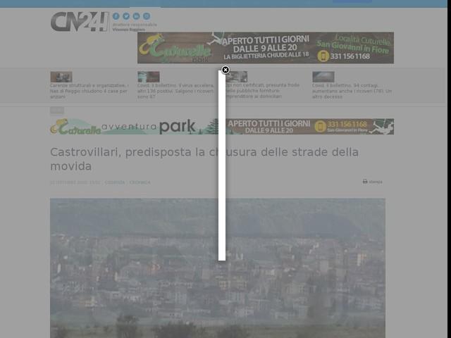 Castrovillari, predisposta la chiusura delle strade della movida