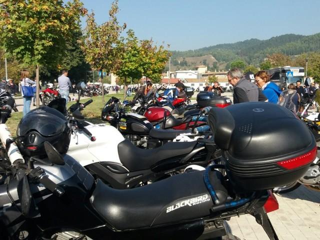 Si accendono i motori, alla Mostra del Tartufo di Sant'Angelo in Vado è il week end del Motoraduno