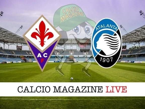 Fiorentina – Atalanta: cronaca diretta live, risultato in tempo reale