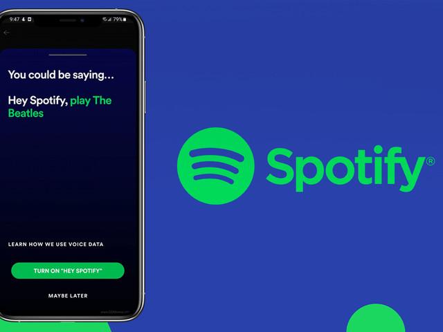 """Anche Spotify crea il suo assistente virtuale per riprodurre la musica con le parole """"Hey Spotify"""""""