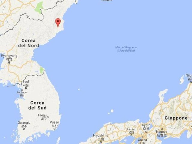 Corea del Nord, terremoto di 3.4 gradiSeul: «Si tratta di evento naturale»