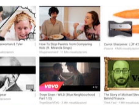 YouTube: Guarda & Scopri si aggiorna alla vers 14.33
