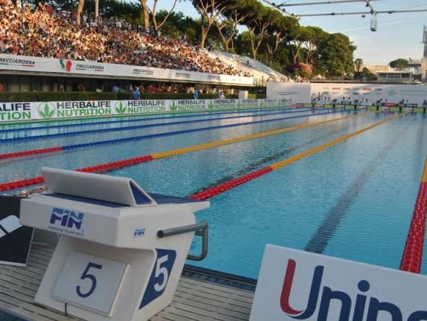 A Roma gli Europei di nuoto 2022