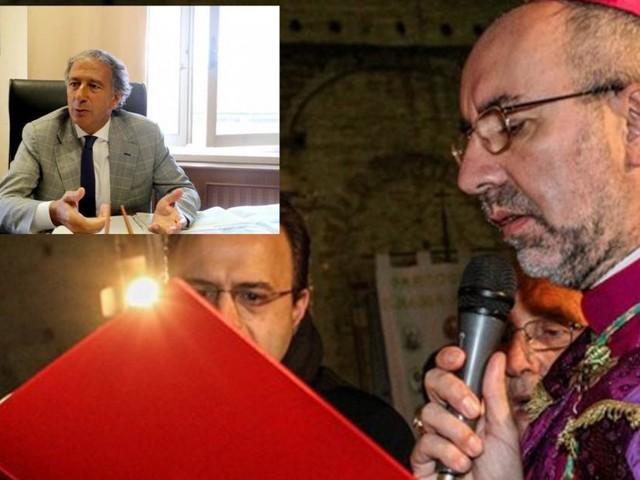 """Il vescovo ringrazia il questore Pignataro: """"Fondamentale nella lotta contro la droga"""""""