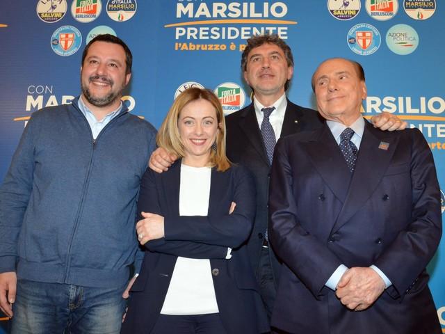 Elezioni in Abruzzo: Marsilio (centrodestra) al 43%, centrosinistra al 32%, crolla il M5s
