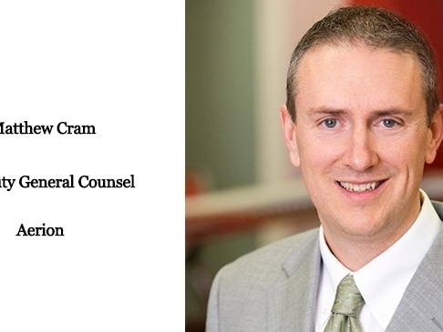 Aerion names Matthew Cram as Deputy General Counsel