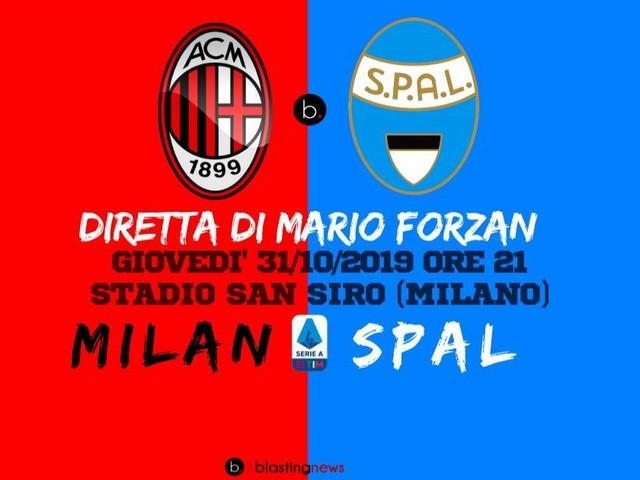 Diretta Serie A: Milan - Spal, dolcetto o scherzetto, in palio punti pesanti a San Siro