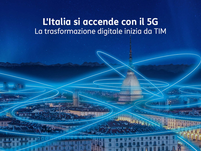 TIM annuncia il 5G in Italia, si parte da Torino e Roma