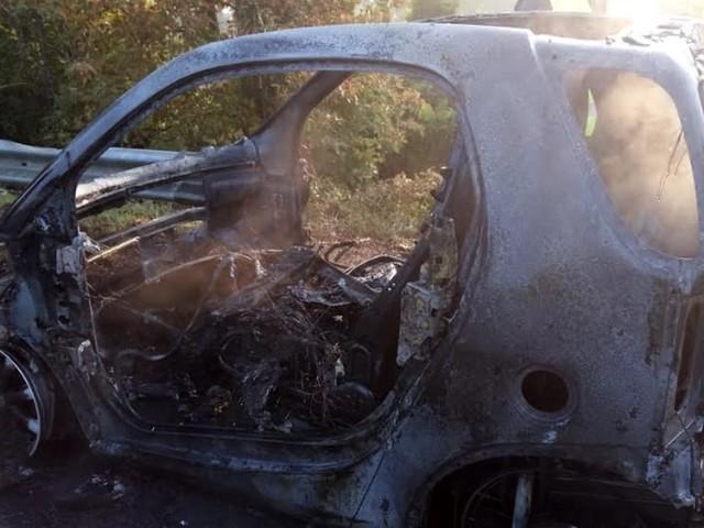 Auto avvolta dalle fiamme, esplode il motore: conducente scende appena in tempo