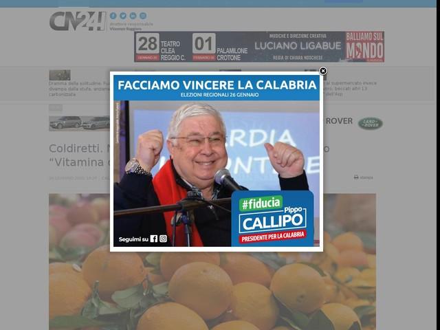 """Coldiretti. Nei mercati di Campagna Amica il primo """"Vitamina day"""""""