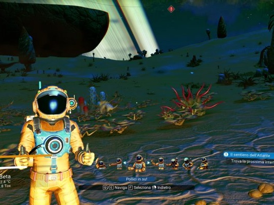 No Man's Sky: Sean Murray di Hello Games sta sperimentando nuove idee - Notizia - PS4