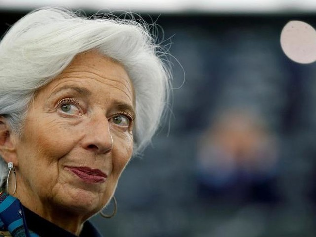 """Lagarde (Bce): """"Nell'eurozona Pil giù dell'8-12%, ma non ci sarà nessuna crisi dell'euro"""""""