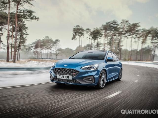 Ford Focus ST - Tolti i veli alla nuova versione sportiva