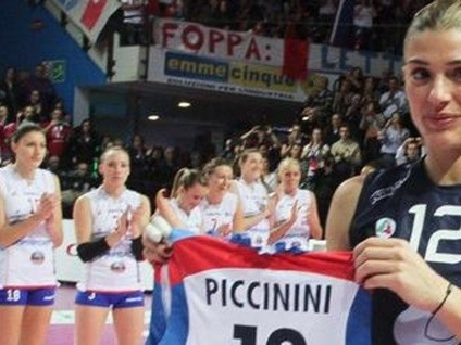 La Piccinini si racconta dopo il ritiro «Bergamo, per me conti sempre tanto»