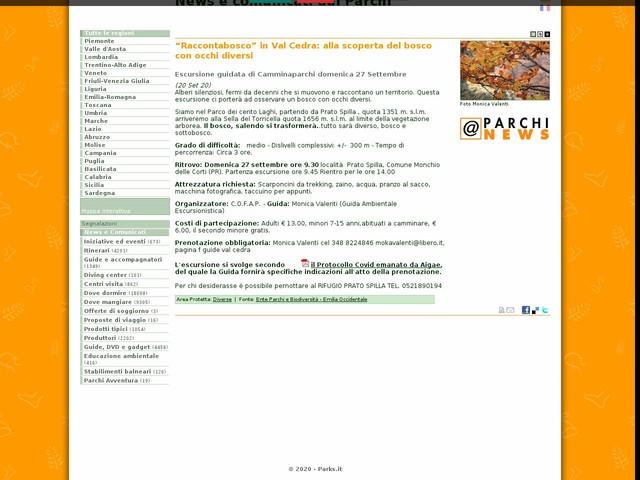 """Ente Parchi e Biodiversità - Emilia Occidentale - """"Raccontabosco"""" in Val Cedra: alla scoperta del bosco con occhi diversi"""