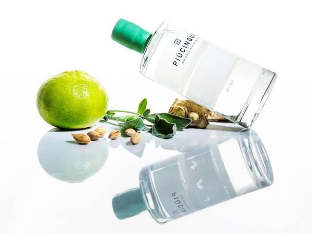"""Piùcinque: il nuovo gin """"botanico"""" firmato Threespirits"""