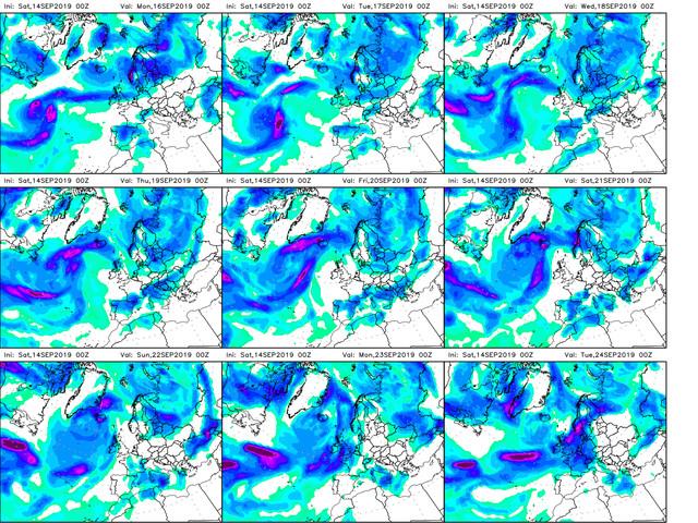 Le Previsioni Meteo dell'Aeronautica Militare fino a venerdì 20 settembre: in prevalenza sereno, nubi a metà settimana
