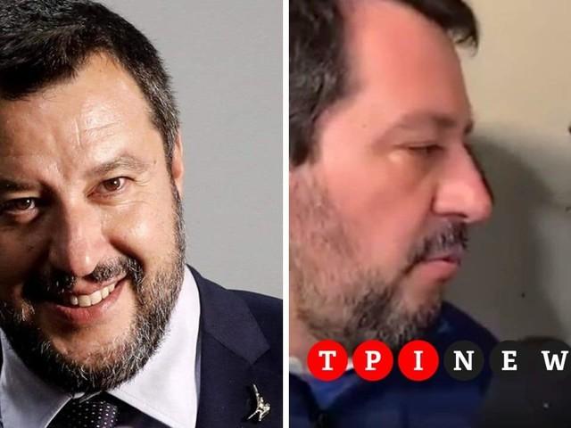 """Bologna, Salvini citofona a casa di un tunisino: """"Lei spaccia?"""""""