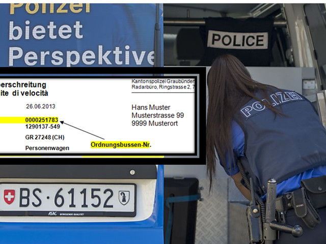 Multa dalla Svizzera autovelox senza raccomandata