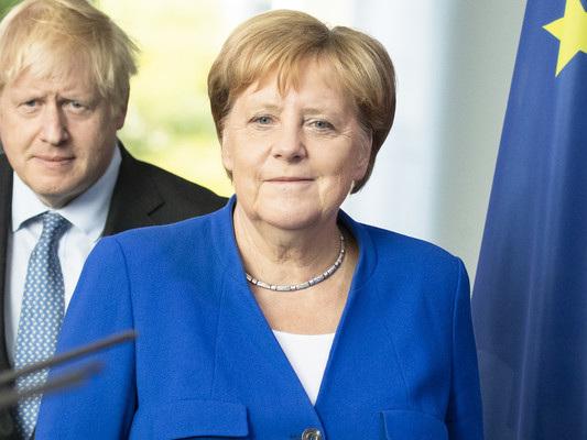Boris Johnson incontra Angela Merkel. E trova pochi spiragli