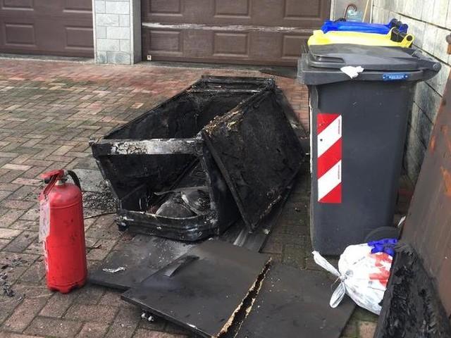 Brucia una villetta a Volpiano: marito e moglie gravi in ospedale