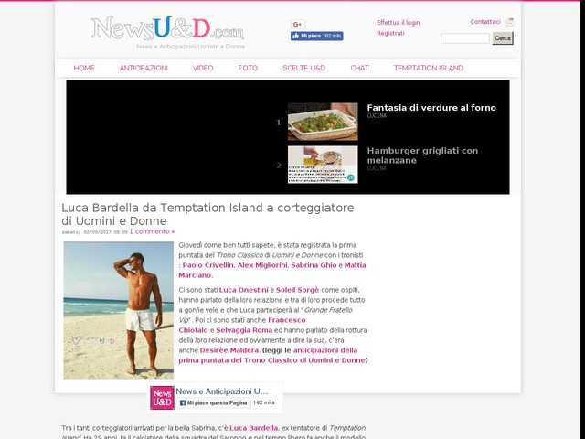 Luca Bardella da Temptation Island a corteggiatore di Uomini e Donne