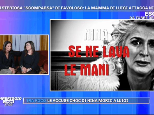 Le amiche della madre di Luigi Favoloso a Pomeriggio 5: supponiamo che anche lei sia complice, noi prese in giro