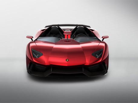 Lamborghini Aventador J in anteprima a Ginevra