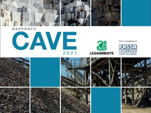 Rapporto Cave 2021: 29 milioni di m3 di sabbia e ghiaia estratti all'anno, canoni irrisori e normativa inadeguata