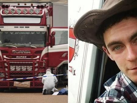 39 cadaveri nel container in un camion proveniente dalla Bulgaria: diramate le immagini del conducente