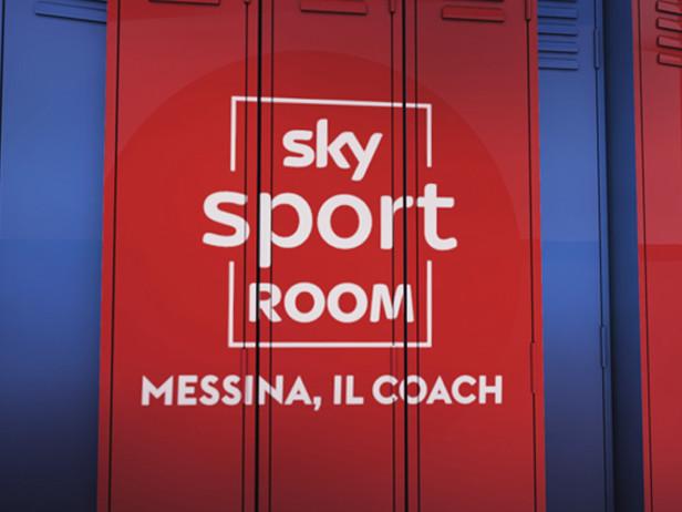 A Sky Sport Room, Messina il coach. Appuntamento sabato alle 23 su Sky Sport