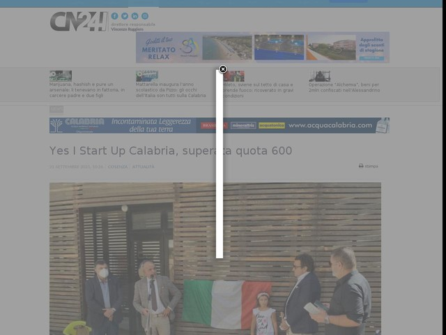 Yes I Start Up Calabria, superata quota 600