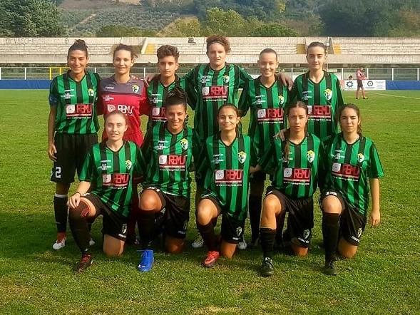 Il Chieti Calcio Femminile travolge il Potenza all'Angelini per 12-0