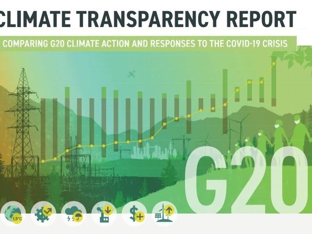 Nel G20 in calo le emissioni di gas serra e in aumento le energie rinnovabili