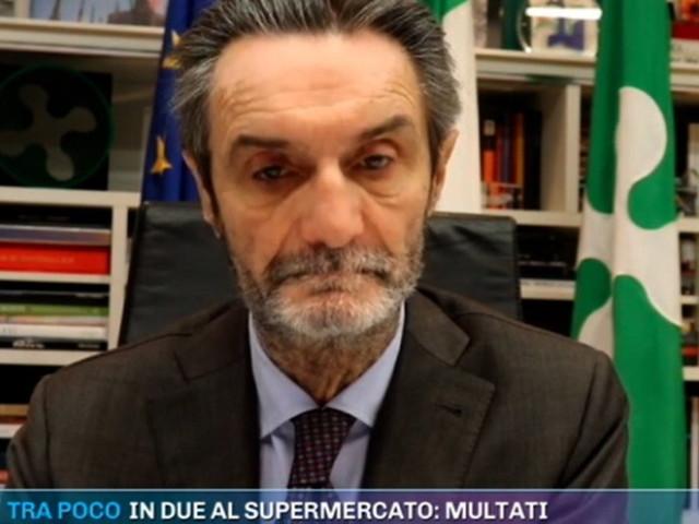 "Lombardia zona rossa, Fontana: ""Mi riservo di impugnare l'ordinanza"""