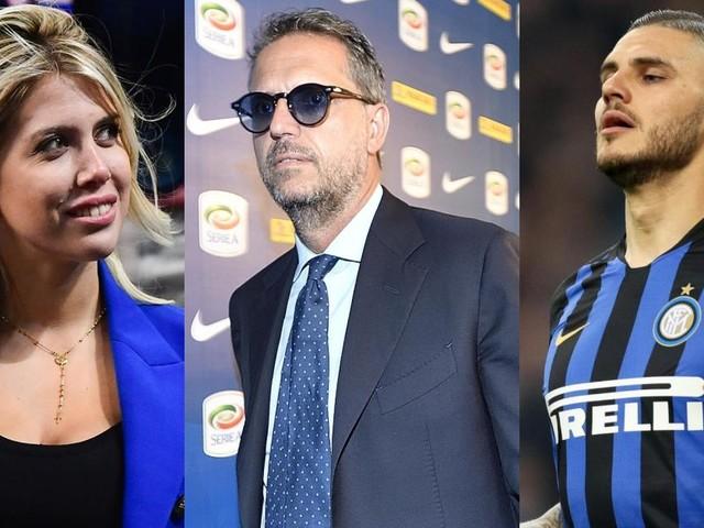 Continua la spy story tra la Juve e l'Inter per Icardi: avvistamento di Paratici con Wanda