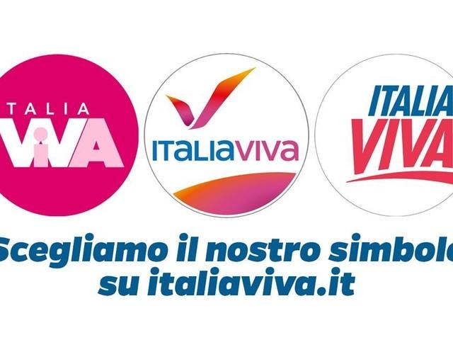 Matteo Renzi lancia il voto online per scegliere il simbolo di Italia Viva
